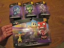 Disney Infinity 3.0 PIXAR JOY,ANGER,FEAR,DISGUST,SADNESS INSIDE OUT SET COMPLETE