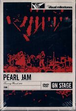 USED  DVD // PEARL JAM TOURING BAND 2000 // HARD PLASTIC COVER // 28 TRACKS