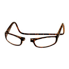 CliC +2.5 Diopter Magnetic Reading Glasses: Euro - Tortoise