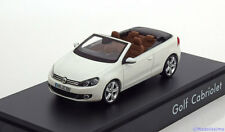 1:43 Schuco VW Golf Convertible 2012 white