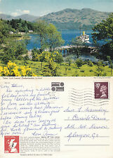 1978 TARBET LOCH LOMOND ARGYLLSHIRE SCOTLAND COLOUR POSTCARD
