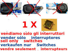 1x tasto switch interruttore ricambio cover guscio RENAULT CLIO MEGANE LAGUNA