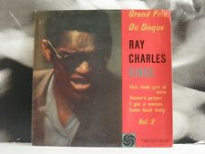 "RAY CHARLES SINGS VOL. 2 EP 7"" EX/EX+ ATLANTIC SWEDEN ATL-EP 80.024"