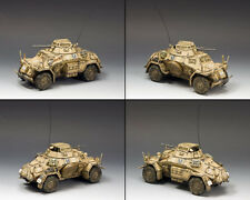 KING AND COUNTRY AFRIKA KORPS Sd. Kfz. 222 Armoured Car North Africa AK92 AK092