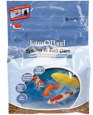 TETRA POND SPRING & FALL DIET KOI FISH FOOD. POND FISH FOOD. 3LB.