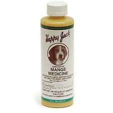 Sarcoptic Mange Medicine for dogs & horses 8 oz NEW