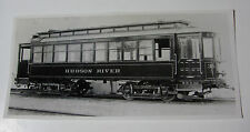 USA607 - HUDSON RIVER TRACTION Co - TROLLEY No35 PHOTO New York