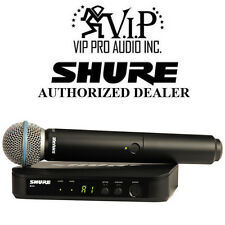 Shure BLX24/B58 Pro mint Handheld Wireless Microphone System W/ Beta 58A Mic