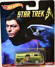 HOT WHEELS POP CULTURE STAR TREK VOLKSWAGEN T1 PANEL BUS