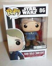 Han Solo Snow Gear Funko Pop Figure Bobble-Head 86 Loot Crate Exclusive TFA