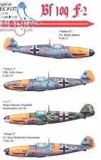 EagleCals Decals 1/32 MESSERSCHMITT Bf-109F-2 Fighter JG2 JG53 & JG54