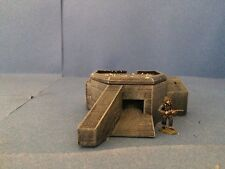 28mm Scale Wargaming Terrain Atlantic Wall Machine Gun Bunker