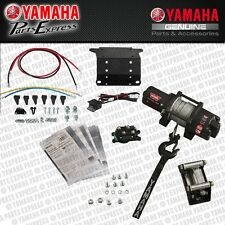 NEW 2016 17 YAMAHA KODIAK GRIZZLY 700 PRO VANTAGE 2500 WARN WINCH WITH MOUNT KIT