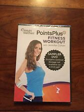 Weight Watchers DVD POINTS PLUS Fitness Workout with Jennifer Cohen Program set