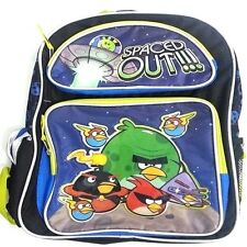 """Rovio Angry Birds Spaced Out Large School Backpack 16"""" Book Bag -New w/Tags!V2"""