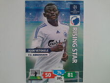 PANINI ADRENALYN XL CHAMPIONS LEAGUE 2013 2014 - VETOKELE KOBENHAVN RISING STAR