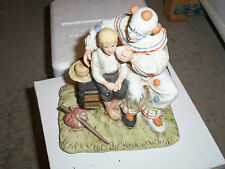 Figurine Innocence Youth Norman Rockwell The Runaway