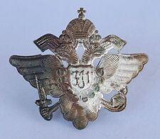 Originales Abzeichen Kaiser Franz Josef - Doppeladler Krone - Kappe Uniform