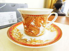 VERSACE Rosenthal Germany ASIAN DREAM Cappuccino Cup & Saucer - NEW / BOX!