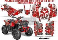 AMR Racing DECORO GRAPHIC KIT ATV POLARIS interferenzaNverso/Trailblazer deaden B