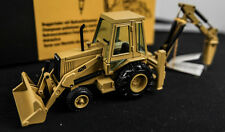 CATERPILLAR 428 BACKHOE HAMMER CAB DIECAST ERTL GERMANY LOADER RARE CAT NZG