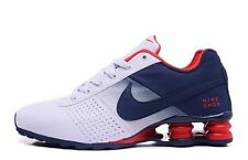Brand New Mens Nike Shox Deliver 2016 Red White Blue Size  11