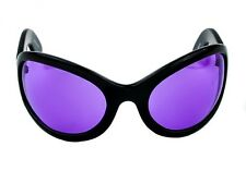 Purple Lens Gothic Sunglasses Oversized Punk Alternative DJ Pon3 Cosplay Grunge