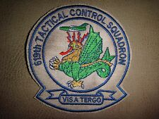 Vietnam War Patch US 619th Tactical Control Squadron With Motto FORCE  BEHIND