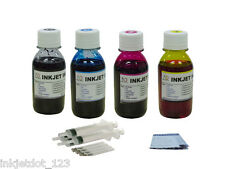 Refill ink kit for HP 74 75 92 93 94 95 96 97 98 4x100ml