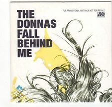 (EZ428) The Donnas, Fall Behind Me - 2004 DJ CD