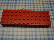 Lego Brick 4x12 4202 rot red Platte 10019 392 6478 1619 340 355 1703 347 350 330