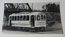 USA612 - PATERSON CENTRAL ELECTRIC RAILWAY Co TROLLEY No94 PHOTO - New Jersey