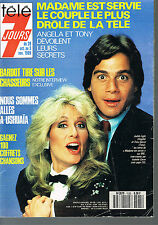 ►Télé 7 Jours 1535 de 1989 Judith Light_Tony Danza_Michel Fugain_Sylvie Vartan