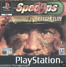 SPEC OPS RANGER ELITE for Playstation 1  PS1 - with box & manual