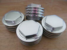 70-4610R TRIUMPH UNIT T100 T120 TR6 BONNEVILLE 1963-74 ROCKER BOX CAP (SET OF 4)