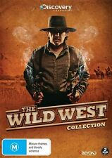 The Wild West (DVD, 2016, 3-Disc Set) (Region 4) Aussie Release