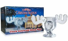 Officially Licensed National Lampoons Christmas Vacation Glass Moose Mug - SI...