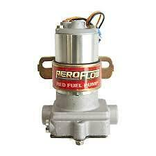 AEROFLOW FUEL PUMP 97 GPH RED ELECTRIC PERFORMANCE DRAG CHEV FORD HOLDEN MOPAR