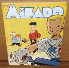 Vintage 1986 Mikado Magazine French Canada Childrens Activity Comic Book No.27
