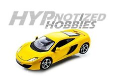 BBURAGO 1:24 MCLAREN MP4-12C METALLIC YELLOW 21074