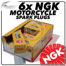 NGK Bujías 6x Para Honda 1500cc GL1500 J-L (Gold Wing) 88 - > 01 No.5531