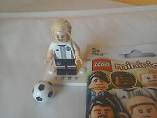 Lego minifigures German footballer Schurrle #9 team DFB 71014 mini figure rare