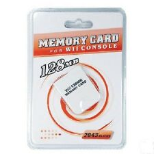 High Quality 128 MB MEMORY CARD FOR NINTENDO WII GAMECUBE GAME