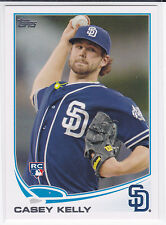 Casey Kelly San Diego Padres 2013 Topps Baseball Rookie Card
