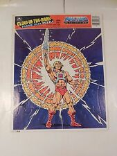 RARE COMPLETE MOTU HE-MAN GLOW IN THE DARK FRAME TRAY PUZZLE GOLDEN 1986 MATTEL