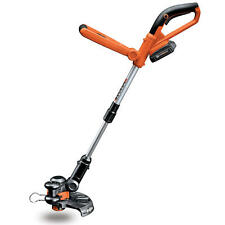 """10"""" 20V Li-ion Cordless Powerful Grass Weeds Lawn Trimmer Edger Weed Eater"""
