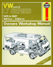 0637 Haynes VW LT Petrol Vans and Light Trucks (76 - 87) up to E Workshop Manual