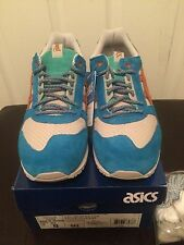Asics Gel Respector x Patta Anime Beige Blue Orange H60UK-0509 Sz 8