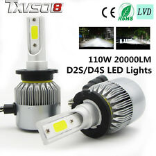 110W D2S/D4S 20000LM CREE Car LED Headlight Kit Auto Driving Beam Bulbs 6000K