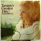 """12"""" 33 RPM STEREO LP - EPIC BN-26486 - TAMMY WYNETTE - GREATEST HITS (1969)"""